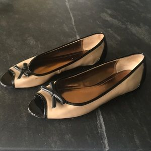 Ellen Tracy Shoes - Ellen Tracy peep toe flats